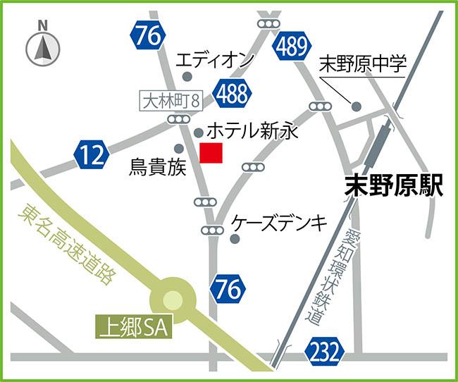 豊田永覚地図